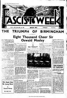 Fascist Week - 24th January 1934