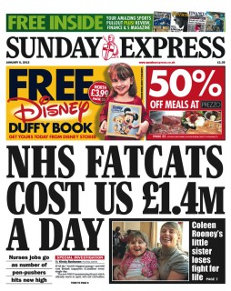 Sunday Express - 6th January 2013